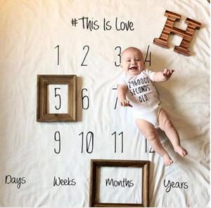 Bebê cobertores macios Muslin Background de pano de algodão do bebê de gavetas Enrole Crianças gaze toalha de banho do bebê do aniversário da foto Props