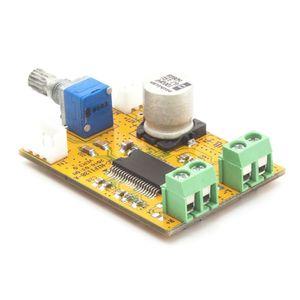 AMP TDA138-E ستيريو فئة D مكبر للصوت الرقمي مجلس 2 * 20W 9-14V لديي