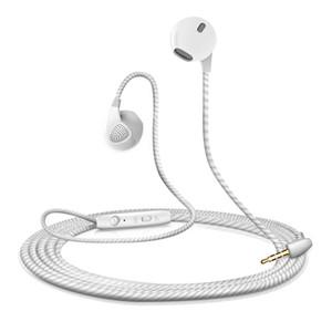 Auriculares deportivos Auriculares y auriculares con micrófono de 3.5mm para auriculares estéreo Auriculares para iPhone Xiaomi 6 5