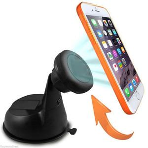 Titular del teléfono móvil magnética parabrisas del coche del tablero de instrumentos Monte soporte para teléfono móvil kit de coche imán soporte para iPhone X 8 más s8
