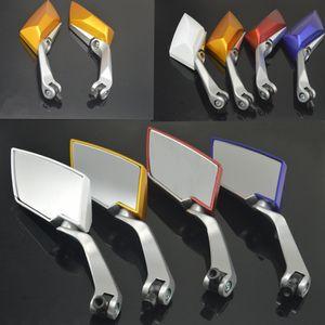 Universalmotor-Rückspiegel-Roller zerteilt Motorrad-Zusätze für GSX650F TL1000R GSXR600 750 ZX10R FZ8 CBR600 Z1000 ZX9R