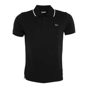New balr Men polo camiseta Camiseta de alta calidad de impresión Fitness Homme algodón marca de ropa BALRED Tops camiseta tamaño del euro camiseta