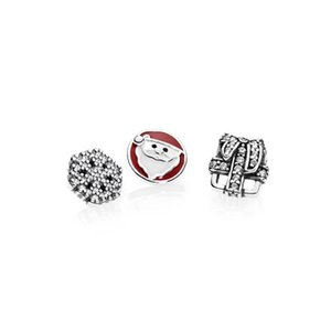 Silver Lockets Necklace 925 Sterling Jewelry Charms Beads Fits European Pandora Style Locket Floating & Authentic 590530 Lixfs