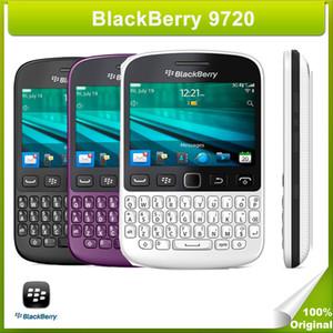 Téléphone mobile BlackBerry 9720 déverrouillé, clavier 2,8 pouces, clavier QWERTY, BlackBerry OS 7.1, réseau 5MP, appareil photo Wifi Bluetooth