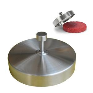Nuovo acciaio inossidabile ripieno Hamburger Press Burger Maker Machine Polpettone di carne Polpettine Pizza Maker Mold Polpette Gadget Tools Burger