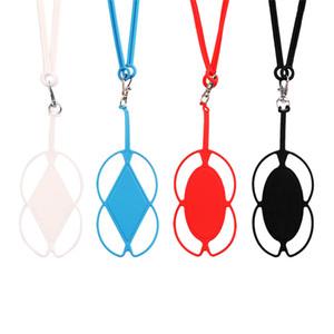 Nuevo Diseño de Teléfonos de Silicona Cordón Smart Phone Case Holder Sling Collar Correa para Xiaomi redmi 3s mi4
