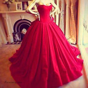 Kırmızı Balo Elbise Victoria Kraliyet Tarzı Kat-Uzunluk Uzun Kadın Özel Durum Giyim Elbise Akşam Parti Elbise Artı Boyutu Vestido Luxuoso