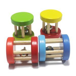 Toptan-Marka Renkli Bebek çıngırak / bebek ahşap müzik enstrüman oyuncak, Çocuk Çocuk Orff erken öğrenme eğitici oyuncaklar, ücretsiz kargo