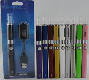 Hot eGo EVOD MT3 blister kits con ecigs 650mah 900mah 1100mAH evod batería MT3 Vaporizador Atomizador tanque vape mods kits de mods DHL