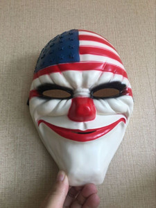 New 160g Quality PAYDAY 2 Adult Kids Clown Face Mask Fancy Dress Halloween Horror Prop Costumes