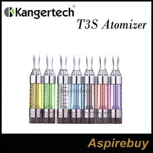 100 % 정통 Kanger T3S 분무기 탱크 업데이트 Clearomizer Cartomizer Kangertech T3S으로 변경 가능 코일 Kanger 100 % 원본