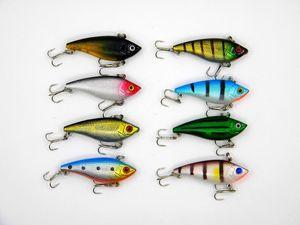 جديد الصيد غرق vib إغراء 6 جرام 5 سنتيمتر الاهتزاز فيبي راتل السنانير الطعوم crankbaits المياه العذبة 5 ألوان