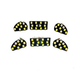 6Pcs LED Car Lights Lights Case for Ford Mondeo Winning 2007 ~ 2013 ، أضواء LED للسيارة المزخرفة ، سطوع عالي ، تركيب بسيط