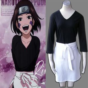 일본 만화 COS NARUTO - Rin 코스프레 애니메이션 의상 소녀 의상 소녀 의상 할로윈 파티