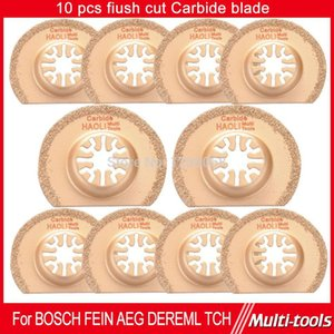 Free Shipping 10Pc Diamond Titanium Oscillating MultiTool Blade fits Fein, Dremel etc Multimaster