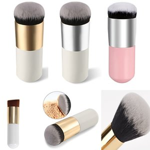 Free DHL New Fashtion Large Round Head Buffer Foundation Powder Makeup Brushes Plump Round Brush Makeup BB Cream Tools SZ-B01