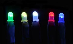 100 pcs mix 5mm 8mm diodo emissor de diodo endereçável de 4 pinos para tela de led etc dc4.5-6v
