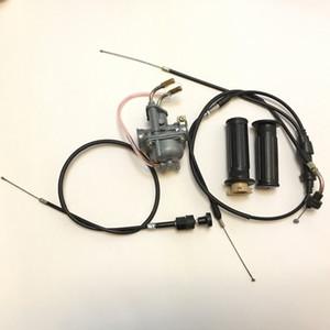 Новый PW50 часть карбюратор дроссельной заслонки дроссельные кабели и ручки подходят Yamaha PW50 Loncin Jianshe PY50