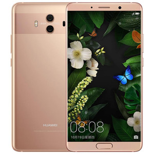 Original Huawei Mate 10 4G LTE Cell Phone 6GB RAM 128GB ROM Kirin 970 Octa Core Android 5.9 inch 20MP NFC Fingerprint ID Smart Mobile Phone