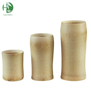 Classic solid wooden mugs 150ml for tea coffee beer milk juice Chinese natural handmade cups vintage healthy water tableware