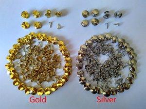 золото серебра латунных анкерных гвозди стопорного штифта спин Хранителей Хранителей держатели замков выводов ювелирной Застежка сцепление брошь одежда