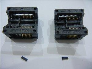 OTS-16 (28) -1.27-04 Enplas SOP16P IC Testi Soket 1.27mm Pitch IC Vücut Boyut 7.5mm olarak Soket Yanık