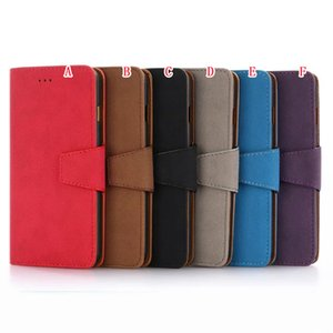 Multifunction Flip Leather Wallet Pouch Case For Iphone 8 7 Plus I7 7plus Matte ID Card Photo 2 IN 1 Detachable Magnetic Purse Cover Luxury