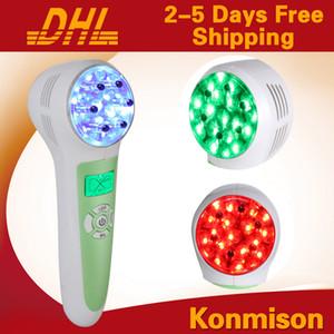 가정 사용을위한 1 개의 LED 광양자 Galvanic 얼굴 기계에있는 다기능 3 노화 방지 피부 강화 기계