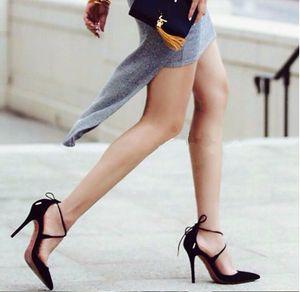 2019 moda nupcial zapatos tacones altos vendaje zapatos de boda accesorios de punta estrecha para mujeres negro rojo accesorios nupciales