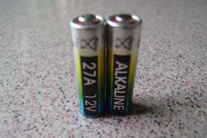 البطارية القلوية 12 فولت 27A LR27A 27A L828 MN27 GP27A EL812 خلايا 600 قطعة / الوحدة 0٪ زئبق