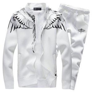 Wholesale--Clothing Menswear Fashion Tracksuit Casual Sports Suit Mens Spring/Autumn Hoodies/Sweatshirts Coat+Pant Tracksuit