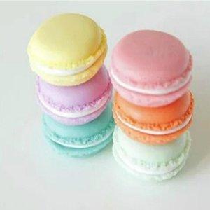 Mignon mini bijoux boîte de rangement organisateur bonbons petites choses contenant boîte de rangement en plastique emballage support titulaire boîte de couleur aléatoire 4 * 2 cm