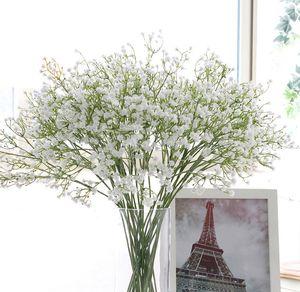 Ziemlich Gypsophila Baby-Atem-weiches Silikon-künstliche Blumen-Fälschungs-Blumen-Anlage Heim Hochzeit Dekoration Großhandel