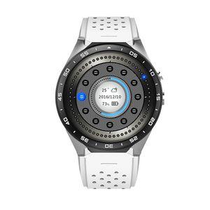 جديد وصول kingwear KW88 400 * 400 MTK6580 رباعية النواة 3 جرام gps wifi الروبوت 5.1 smartwatch الذكية ووتش 0.2mp كاميرا pk s99 LEM3
