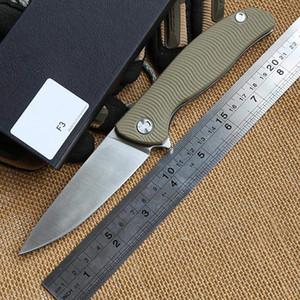 베어 헤드 F3 볼 베어링 플리퍼 전술 접이식 칼 D2 블레이드 G10 스틸 핸들 캠핑 사냥 야외 기어 생존 나이프 MULTI 도구