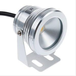 Livraison gratuite 10 W sous l'eau LED Flood Wash Pool Waterproof Light Spot Lamp 12 V En plein air Brand New