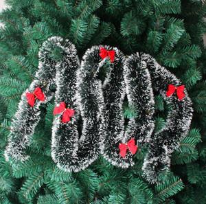 Guirlanda de pinho feliz natal decoração da árvore de natal tira decoração guirlanda de natal fita de natal decoração frete grátis CR002