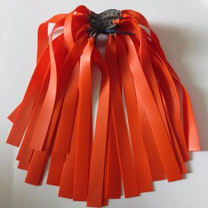 10pieces مقلاع الشريط المطاطي اللون البرتقالي 1MM سمك جودة مقلاع مقلاع الشريط المطاطي مقلاع المطاط اللاتكس