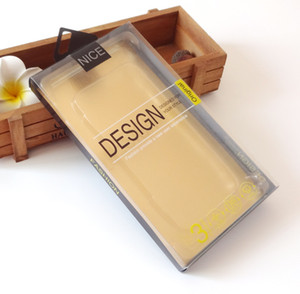 iphone 7 İç Tepsili Durumunda 7plus Box Packaging 300pcs toptan Evrensel Mobil Telefon Kılıf Paketi PVC Plastik Perakende