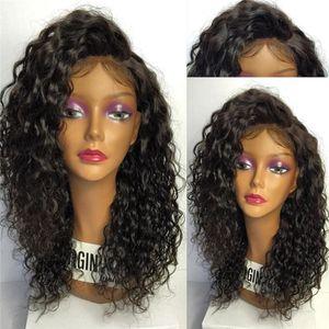 Top 7A Grade Best Full density Brazilian Толстый человеческий парик для волос Полный парик кружева Дешевые человеческие волосы кружева передний парик Glueless парик