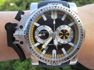 46 ملليمتر البريطانية chronofighter الحافة المطاط حزام ساعة توقيت كرونوغراف اليابان الكوارتز كرونو الغواص سباق ووتش الرجال ساعة اليد للماء