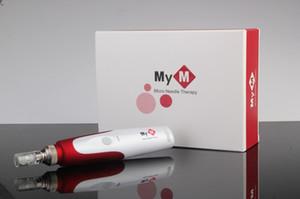 10 sets 5 Speed Auto Electric Mirco needle derma pen DR.PEN ULTIMA dermapen with 2 pcs needle cartridges