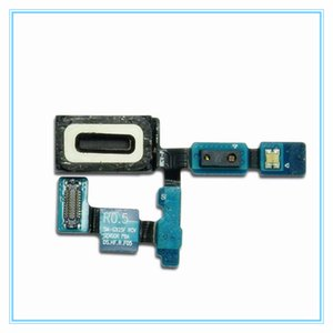 10 unids / lote Ear Piece Earpiece Speaker Micrófono de sonido Flex Cable Repair Parts para Samsung Galaxy S6 Edge G925 G925F Envío gratis