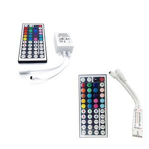 Controller DC12V 6A 44-Tasten-RGB-IR-Fernbedienung LED-Zubehör zur Steuerung von SMD 5050 3528 LED-Streifenbeleuchtung Mini 44-Tasten-Fernbedienung