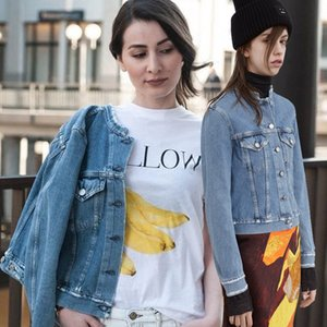 2017 Fall Winter New Design ANEC Vintage Ripped Button Denim Jacket Women Short Design Casual Basic Denim Coat Boyfriend Jeans