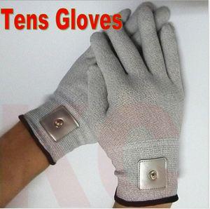 200pcs (100 paia) Nuovi guanti di massaggio conduttivo elettroterapia elettroterapia elettrodo Tens Guanti per decine macchina di bellezza EMS