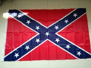 ücretsiz kargo othe Konfederasyon Savaş Bayraklar İki Yüzü Baskılı Bayrak Konfederasyon Asi İç Savaşı Bayrak Ulusal Polyester Bayrakları
