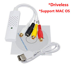 Easycap USB 2.0 Video DVD VHS Audio Capture Adapter per Win7 / 8 XP Vista MAC OS