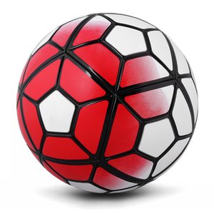 The 10th Soccer Ball Football PU Size 5 Anti-slip Balones De Futbol Mechanically Stitched Bola De Futebol 5 Colors Soccer Balls