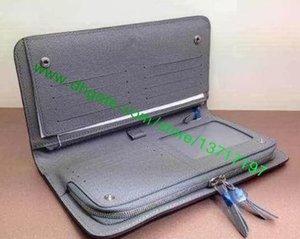 Wallet Grade Long Lady Leather Real Canvas Top Organiser Insolite M66566 Fashion Designer Women Brown Folded N63071 Ggrur